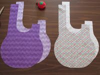 Sewing Pattern: Japanese Knot Bag instructions to go with downloadable pdf pattern.
