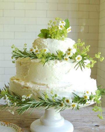Idee decoration gateau mariage fleuri mariage for Idee deco gateau