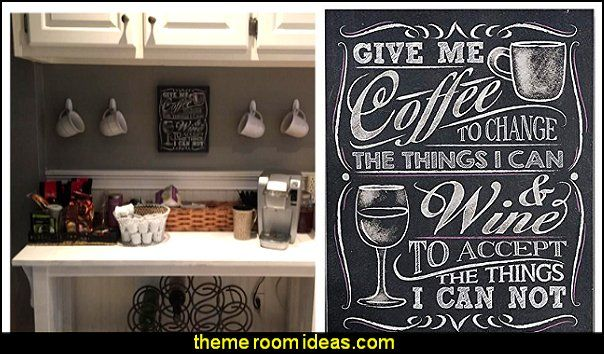 Give Me Coffee Wall Sign Chalkboard Chalkboard Decor Cafe Kitchen Decor Kitchen Styling