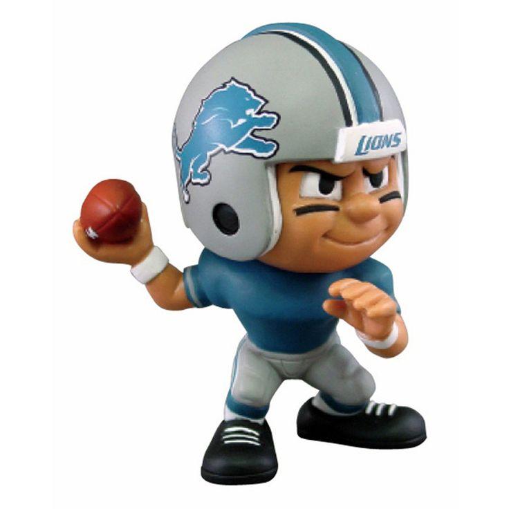 Detroit Lions NFL Lil Teammates Vinyl Quarterback Sports Figure (2 3/4 Tall) (Series 3)