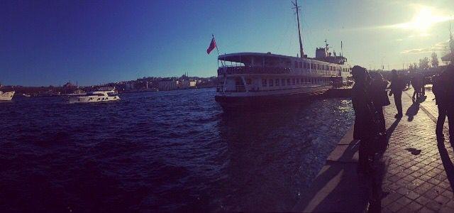Karakoy iskele / istanbul