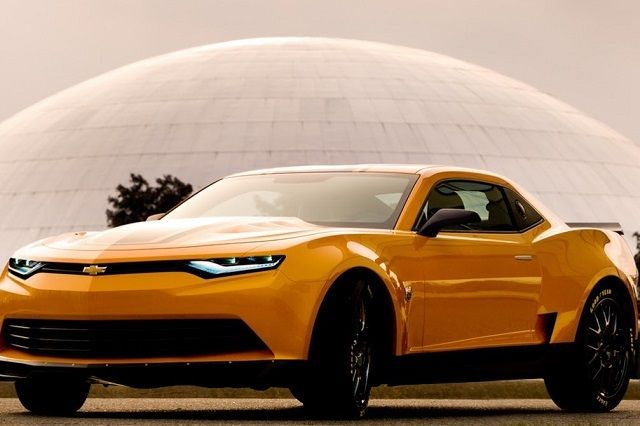 2014 Camaro Concept Is ALSO Bumblebee In Transformers 4 - LSXTV