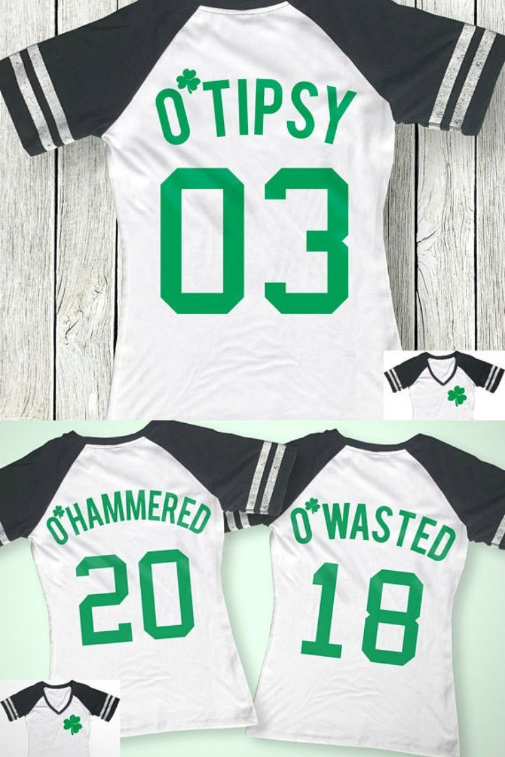 9b172e47 Super cute personalized St. Patrick's Day shirts for drinking teams. I  personally love the