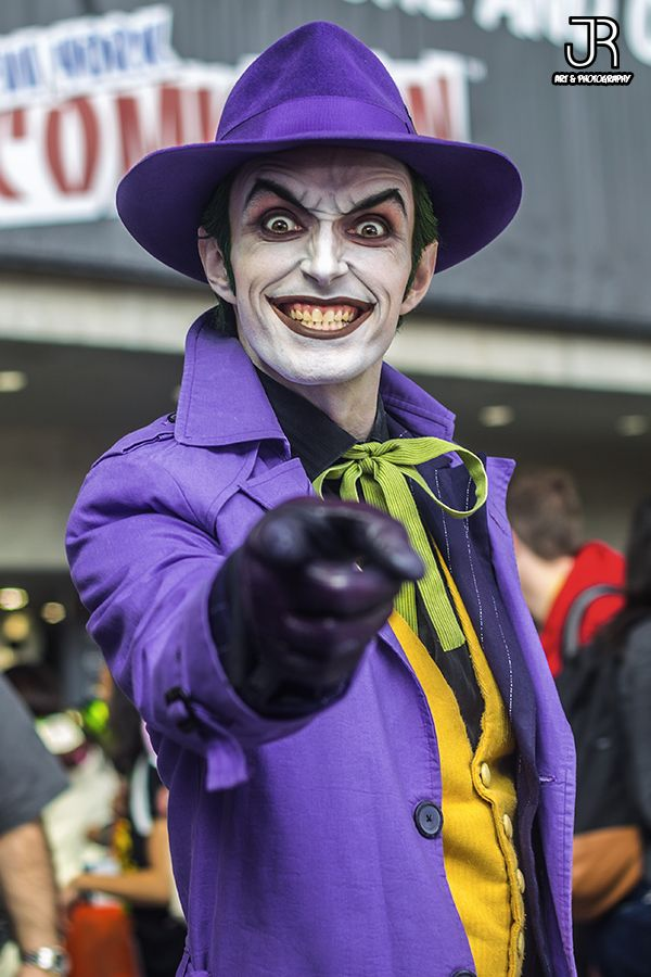 "jrod-artography: "" The infamous Harley's Joker. Photo taken at NYCC 2015. """