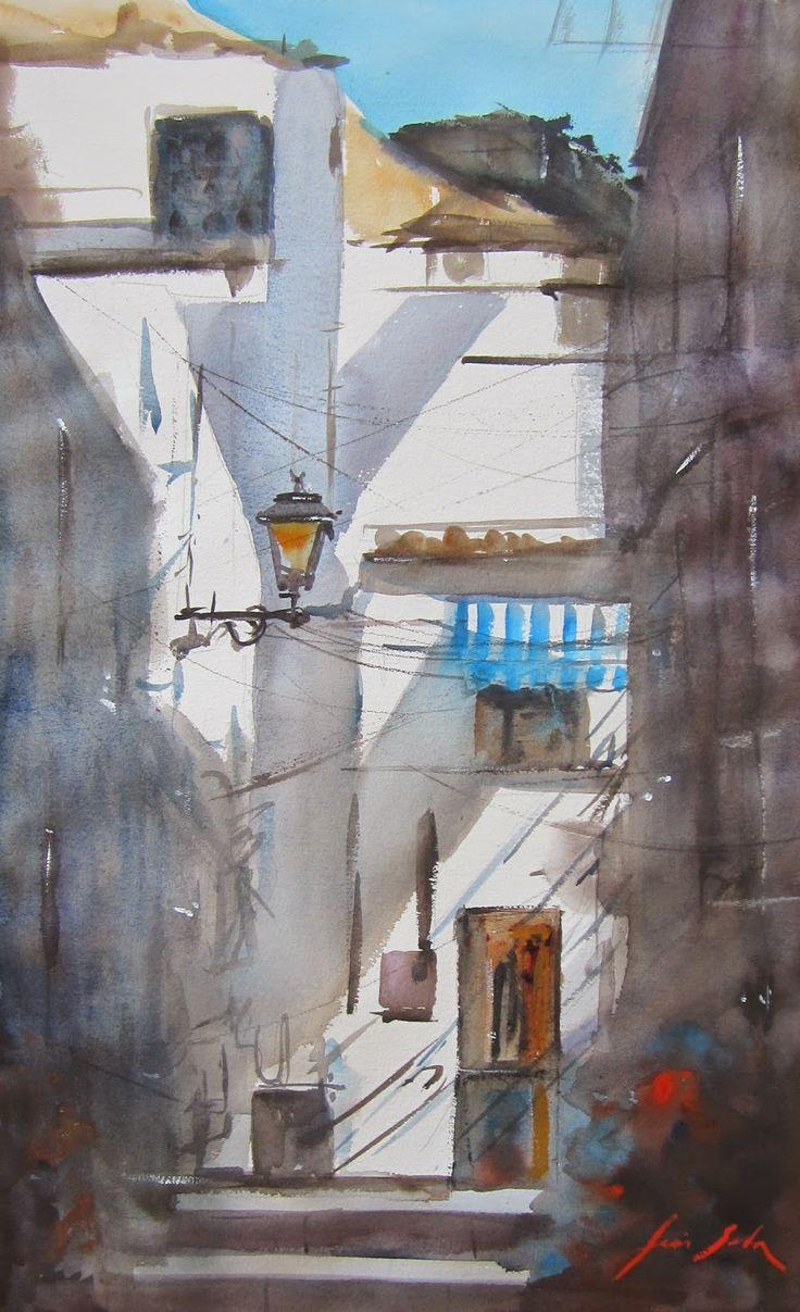 Resultado de imagen para barrio en pinturas
