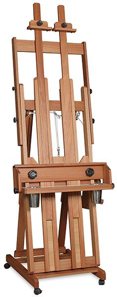 Best Classic Santa FE II Studio Easel by Richeson made in Lyptus wood
