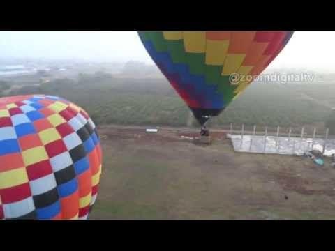 Viaje en Globo por las Pirámides de Teotihuacan con Cybershot - YouTube