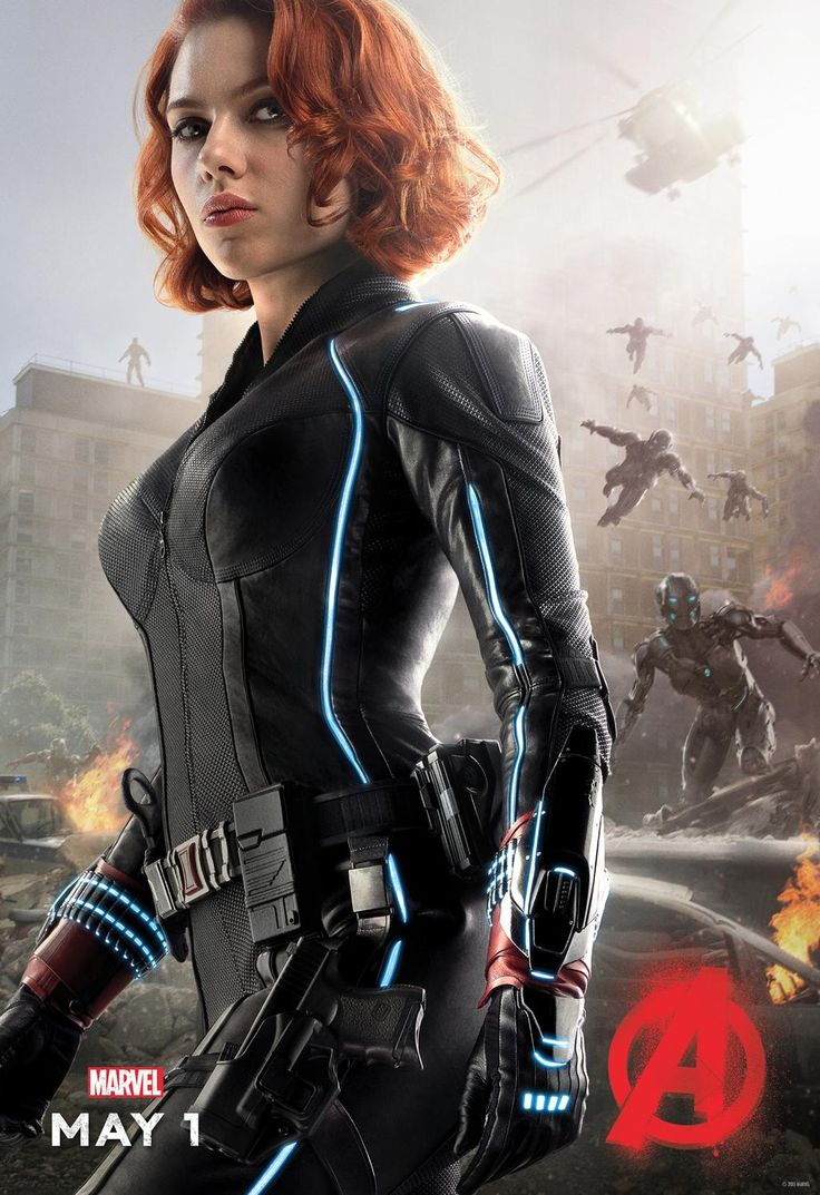 Black Widow -Avengers: Age Of Ultron