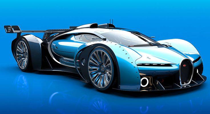 Bugatti Vision Gran Turismo » Los Mejores Autos