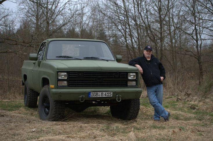 85 Chevy M1009 Cucv Military Blazer 4x4 Diesel Ls1tech Blazer