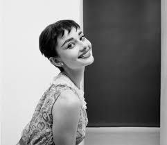Audrey Hepburn short hair