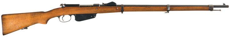 Steyr Mannlicher Model 1888 Straight Pull Bolt Action RifleFind our speedloader now!  http://www.amazon.com/shops/raeind