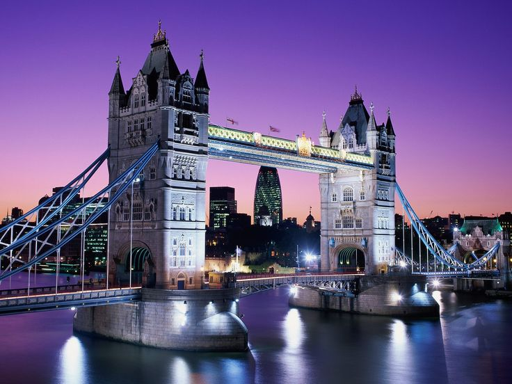 Bunjee jumped off of this. Yup, still bragging about it. Tower Bridge, London, England