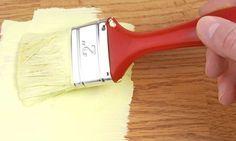 como pintar un mueble d madera