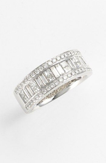 Bony Levy Baguette Diamond Ring (Nordstrom Exclusive) available at #Nordstrom