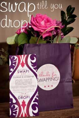 I am seriously thinking of throwing a fashion swap party!  With this economy and with Pinterest helping bring old things to new, this would be a great way to find some great pieces!
