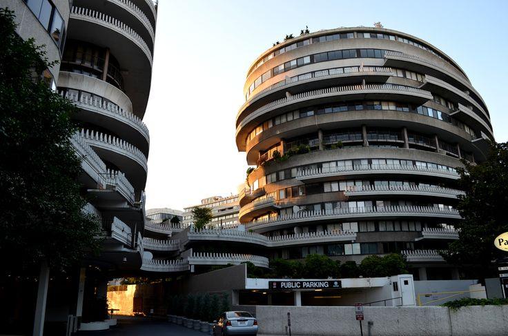Washington, DC  Luigi Moretti  Watergate complex