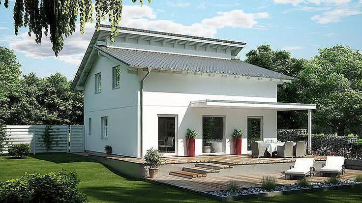 Häuser mit versetzem Pultdach - E 15-128.3 - SchwörerHaus KG