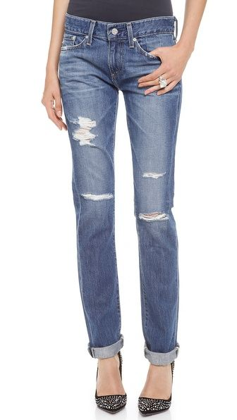 These are calling my name.  AG Adriano Goldschmied The Piper Slouchy Slim Jeans