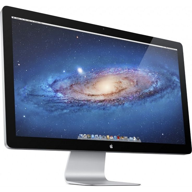 Here is a dream display: Apple Thunderbolt 27 inch