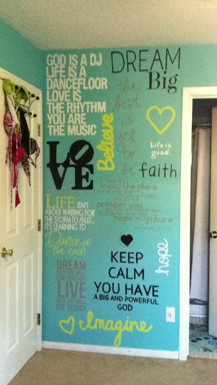17 best images about teen wall quotes on pinterest inspirational thanksgiving holiday and - Outstanding pictures of cool girl bedroom for your beloved daughters ...