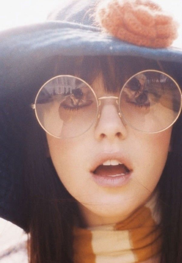 oversized clear circle glasses vintage round sunglasses janis