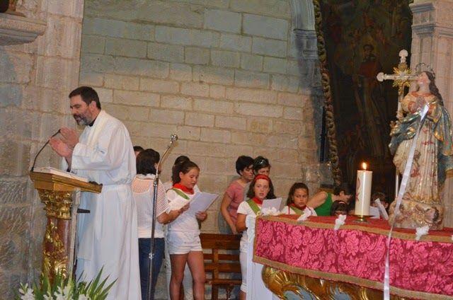 Santacara: Misa Dia del Niño en Santacara Año 2014