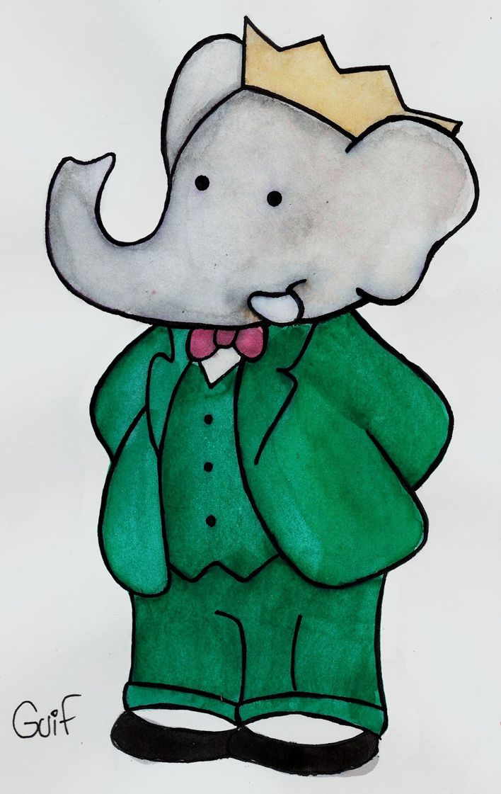 Babar - King of the Elephants by Guilll.deviantart.com on @deviantART