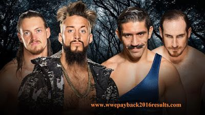 Enzo Amore and Colin Cassady vs The Vaudevillains