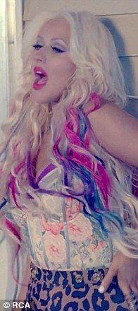 christina aguilera your body hair