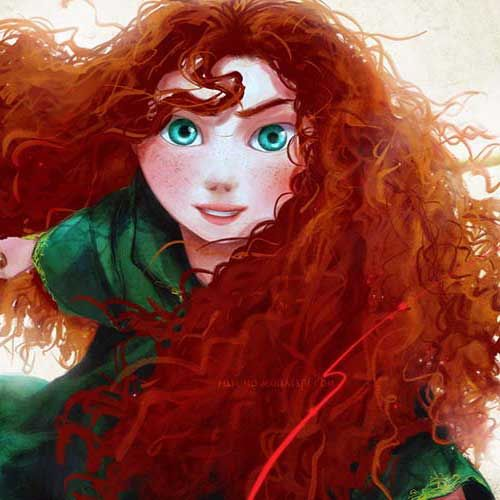 cabelo de princesa