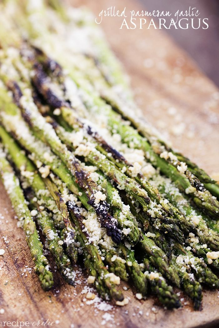 Fresh asparagus that gets grilled to perfection.  The grill adds char marks and a smoky flavor that is simply amazing!  Within a just a few minutes you have tender asparagus coated in parmesan and garlic that will become a family favorite! I absolutely love grilled asparagus.  Have you tried it?  The smoky flavor and charred …