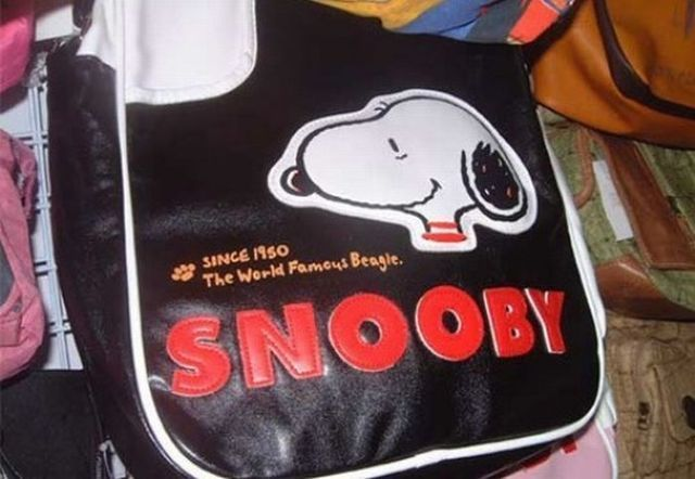 Snoopy or Scooby Doo? 23 Terrible Knockoffs • Page 4 of 5 • BoredBug