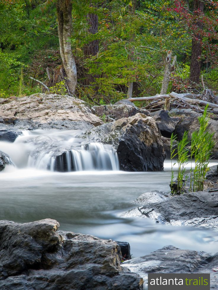 Hike or run the top trails at Sweetwater Creek State Park to waterfalls, whitewater and mill ruins near Atlanta