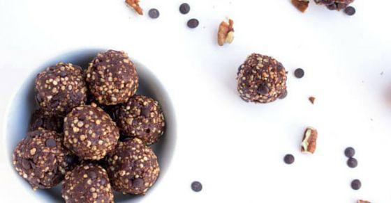 Turtle Cookie Quinoa Energy Bites - Simply Quinoa