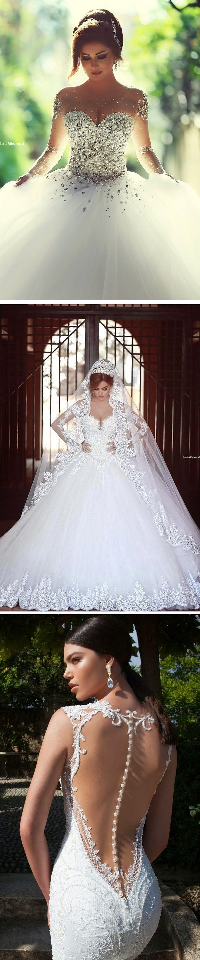 10 Jaw-Droppingly Beautiful Wedding Dresses To Obsess Over! #weddings: