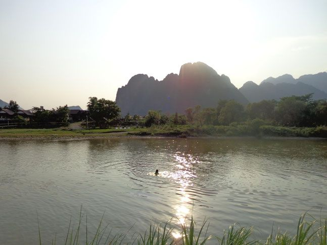 What No One Tells You About Vang Vieng. Travel Blog by halfthisworldaway.com