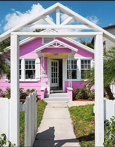Pink Houses On Pinterest Barbie House House And Barbie Dream House