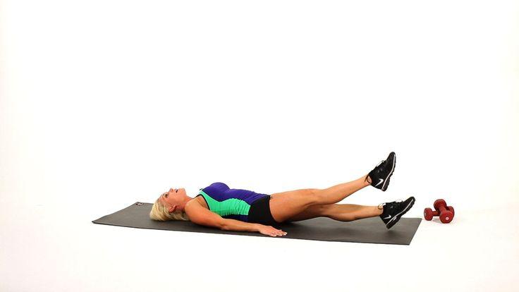 How to Do Leg Flutters or Flutter Kicks | Sexy Legs Workout