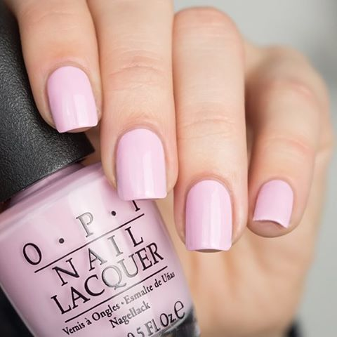 OPI Getting nadi on my honeymoon from Fiji Spring Collection 2017 - so in Love with this babypink / pastel shade #springnails   @opi_products