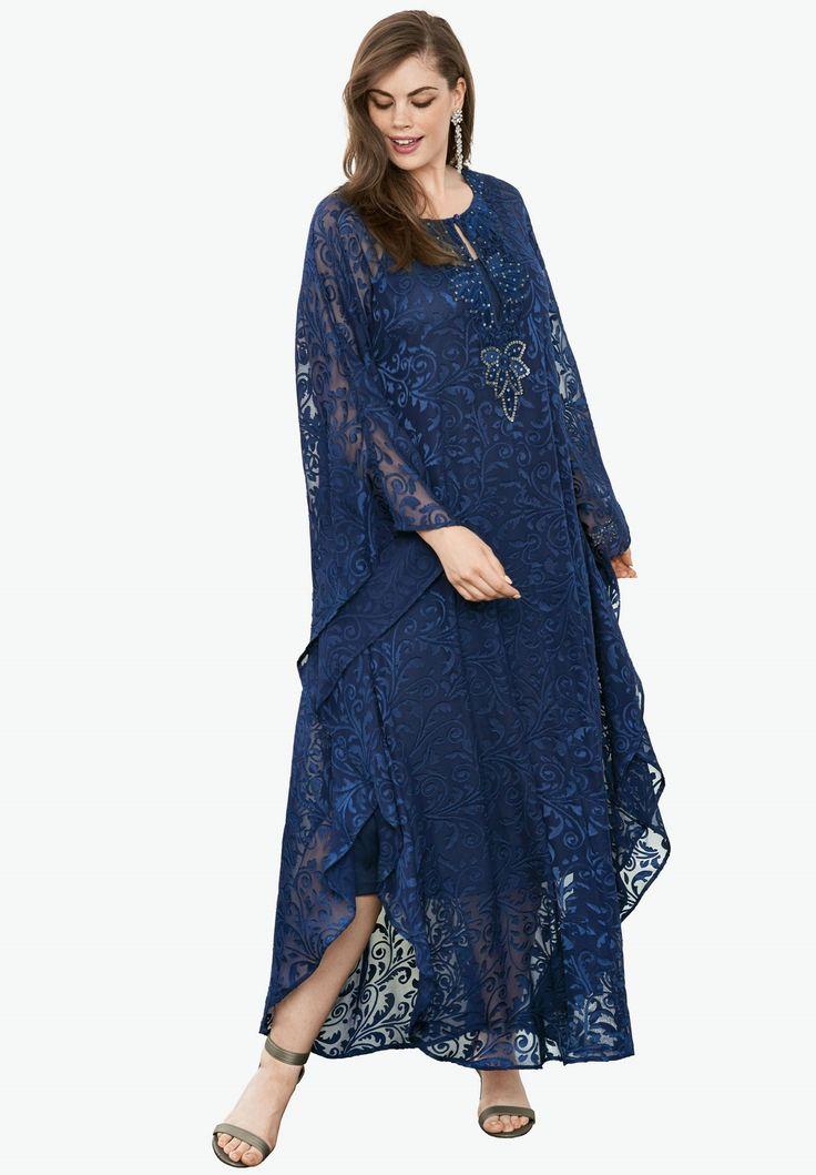 Caftan Dress | Plus Size Evening Dresses | Roamans