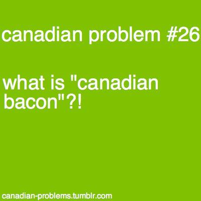 Back bacon, people.