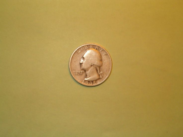 1935 S Washington Quarter Good