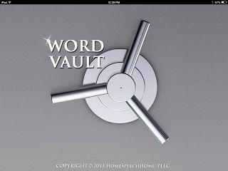 Word Vault App Review: A great app with word lists for speech-language pathologists!