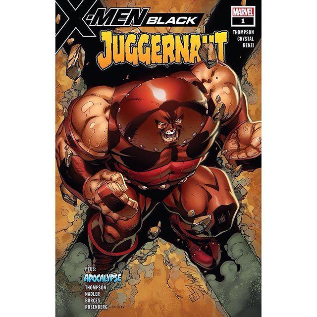 X Men Black Juggernaut 2018 1 Written By Lonnie Nadler Robbie Thompson Zac Thompson Art By Shawn Crys Juggernaut Marvel Marvel Villains Marvel Comics Art