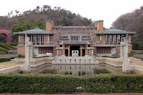フランクロイドライト 帝国ホテル | 旧帝国ホテル フランクロイド ...