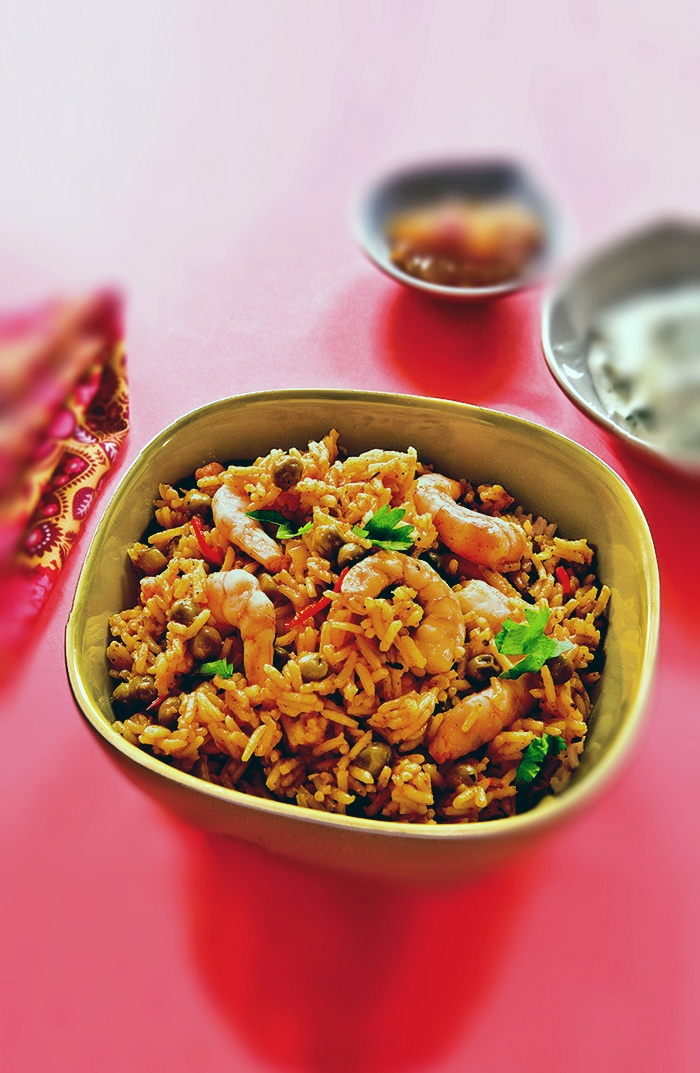 Slow Cooker Sunday Curry Prawn Pilau - A gorgeous curry, slow and low is definitely the way to go! - http://www.fishisthedish.co.uk/recipes/greatforkids/1401-slow-cooker-sunday-curry-prawn-pilau