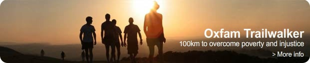 Oxfam Trailwalker: 100km to overcome poverty and injustice