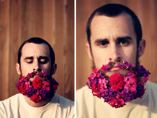 Flower Beards Are The Latest Hipster Trend On The Internet