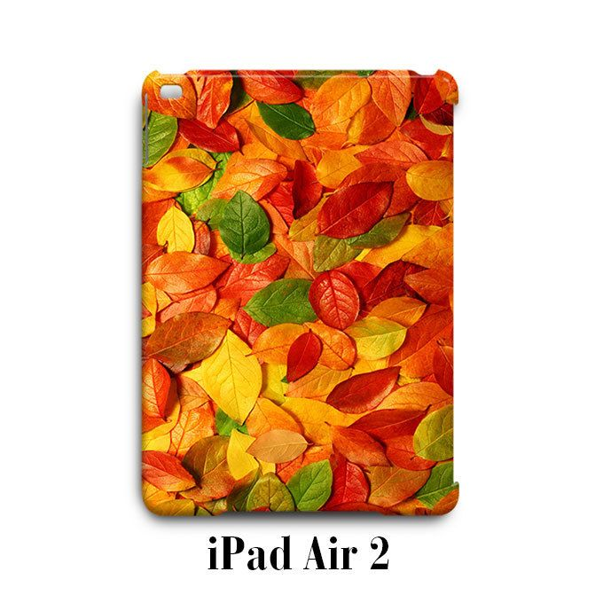 Fall Colour Leaves Autumn iPad Air 2 Case Cover Wrap Around